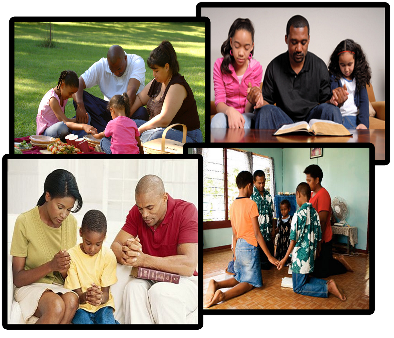 A Family That Prays Together Stays