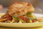 Cheezy Chicken Parmesan With Zucchini Pasta