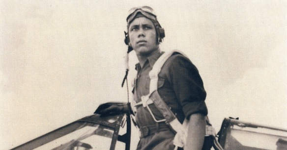 Tuskegee Airman Lt. William Johnston.