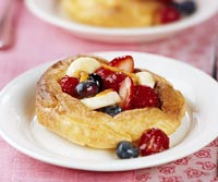 fruit filled pancake